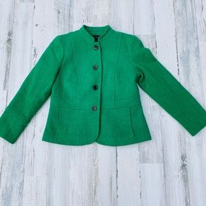 Talbots Fitted Structured Retro Tailored Blazer 6P